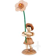 Blumenkind natur mit Christrose