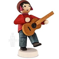 Junge mit Gitarre gebeizt von Ulmik
