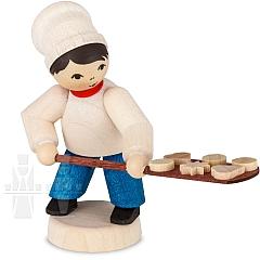 Bäckerjunge mit Schieber gebeizt von Ulmik