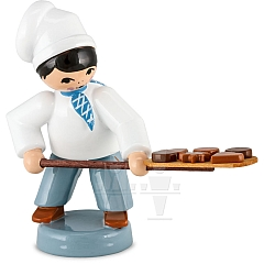 Bäckerjunge mit Schieber blau von Ulmik
