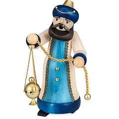 Räuchermann König mit Weihrauch gebeizt