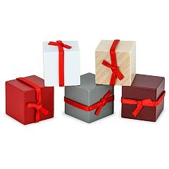 5 Pakete mit Schleife für Wicht
