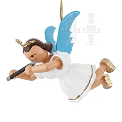 Floating Angel colored with Concert flute