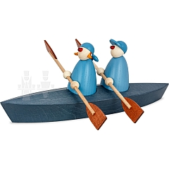 Bootspartie Zweier blau