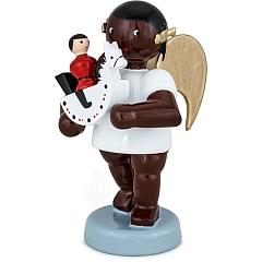 Afrikaner Engel mit Reiterlein 6 cm