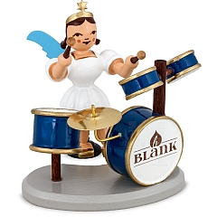 Angel short skirt white with Drum Kit