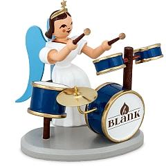 Langrockengel farbig mit Schlagzeug