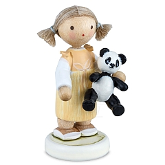 Mädchen mit Panda
