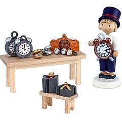 Uhrmacher Marktstand