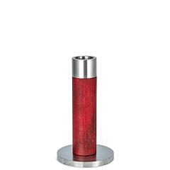 Stelenleuchter rot 13 cm