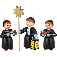 Weihnachtsmarktkurrende schwarz lackiert von Ulmik