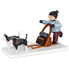Boy with Dog Sled purple from Ulmik
