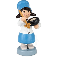 Girl with Saucepan blue from Ulmik