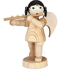 Angel with Transverse Flute standing natural