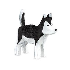 Huskey gebeizt schwarz