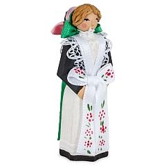 Sorbian costumes - Child bridesmaid
