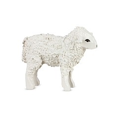 Sheep standing lacquer painted for 7 cm figures