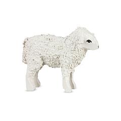 Schaf stehend lackiert für 7 cm Figuren