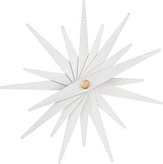 Baumbehang Faltsterne weiß