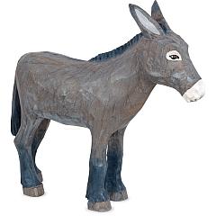Esel groß geschnitzt von Gotthard Steglich