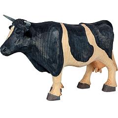 Kuh groß geschnitzt von Gotthard Steglich