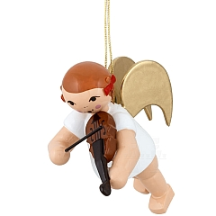 Schleifenengel schwebend mit Geige