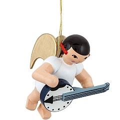 Schleifenengel schwebend mit Banjo