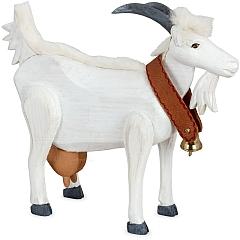 Ziege weiß groß von Gotthard Steglich