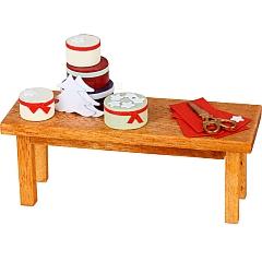 MitMach Tisch mit Spanschachteln