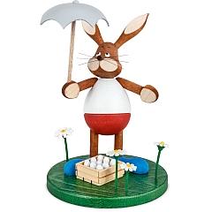 Schnupperhase Willi mit Eierrettungsschirm