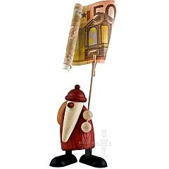 Weihnachtsmann Zettelhalter
