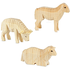 Drei Schafe natur von Ulmik