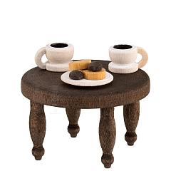 Kaffeekränzchen Kaffeetisch gebeizt von Ulmik