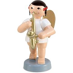 Schleifenengel mit Saxophon 6 cm