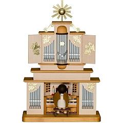Schleifenengel an der Orgel limitiert gebeizt