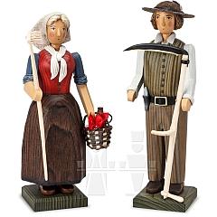 Bauernpaar groß