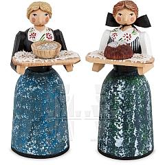 Figurenpaar Brot und Salz