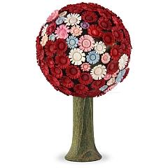 Blütenbaum rot/pastell 7,5 cm