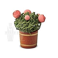 Rosenblumentopf als Miniatur von Günter Reichel