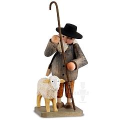 Hirte mit Schaf