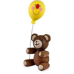 Good Luck Bear with toy balloon