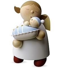 Schutzengel Größe 5 mit Baby, Junge